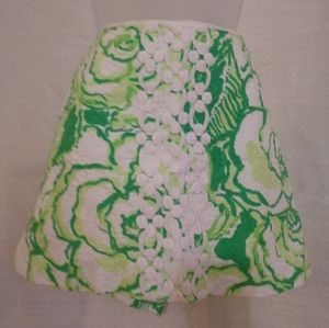 Lilly Pulitzer heartbreaker print skirt